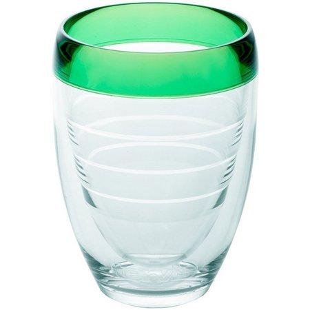 Tervis 9 oz. Mint Sprig Stemless Wine Glass
