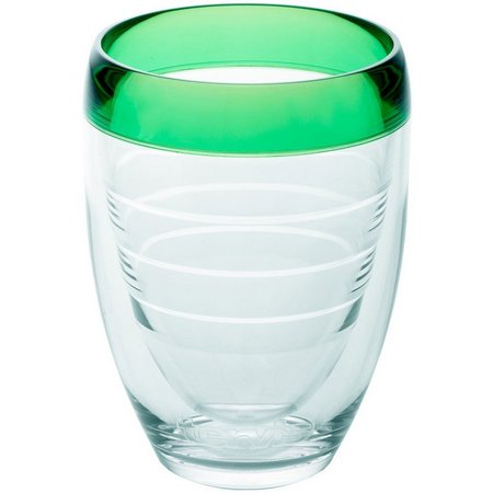 Tervis 9 oz. Mint Sprig Stemless Wine Glass