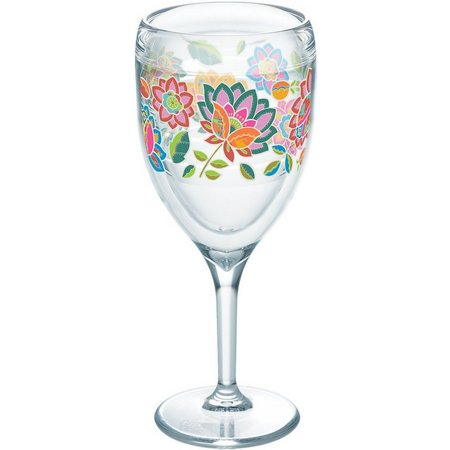 Tervis 9 oz. Boho Chic Wine Glass