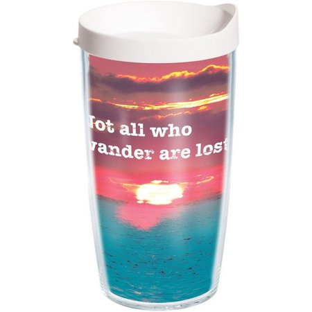 Tervis 16 oz. Not All Who Wander Travel