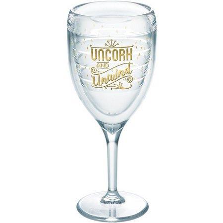 Tervis 9 oz. Uncork & Unwind Wine Glass