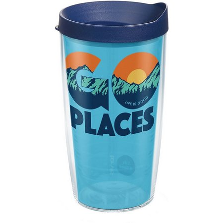 Tervis 16 oz. Life Is Good Go Places