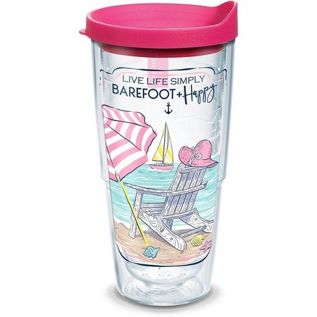 Tervis 24 oz. Barefoot & Happy Tumbler With