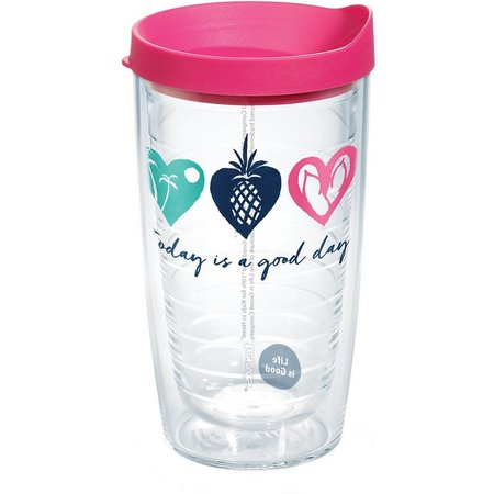 Tervis 16 oz. Life Is Good Heart Travel
