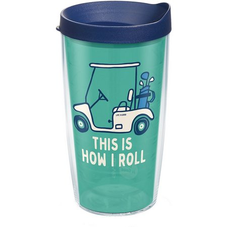 Tervis 16 oz. Life Is Good Golf Cart