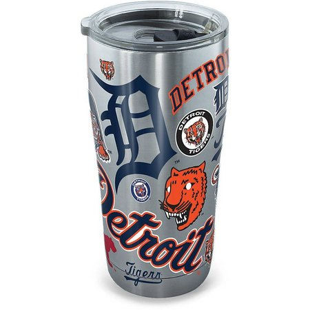 New! Tervis 20 oz. Stainless Steel Tigers Tumbler