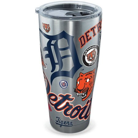 New! Tervis 30 oz. Stainless Steel Tigers Tumbler