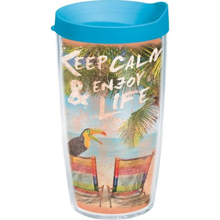 Tervis 16 oz. Margaritaville Keep Calm Tumbler