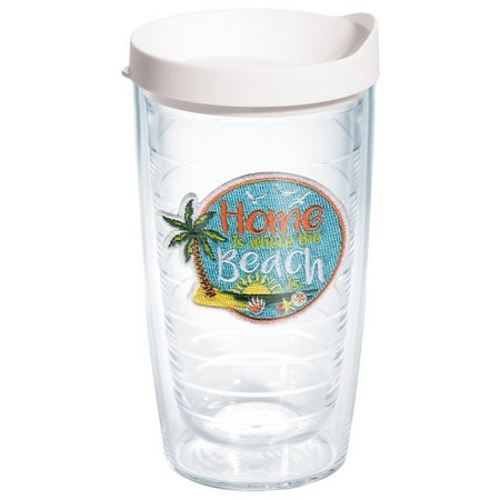 Tervis 16 oz. Home Is Where Beach Travel