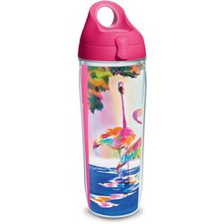 Tervis 24 oz. Ellen Negley Flamingo Water Bottle