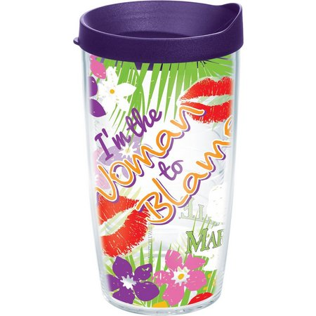 Tervis 16 oz. Margaritaville Woman Travel Tumbler