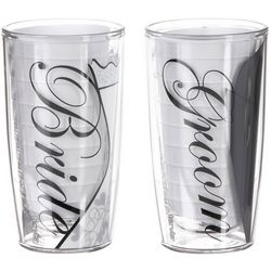 Tervis 16 oz. 2-pc. Bride & Groom Tumbler