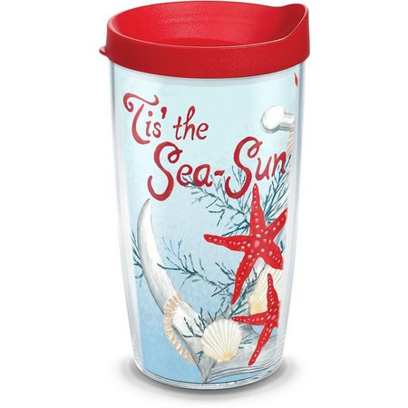 Tervis 16 oz. Tis The Sea-Sun Tumbler with