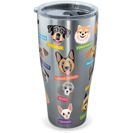 Tervis 30 oz Stainless Steel Flat Art Dogs