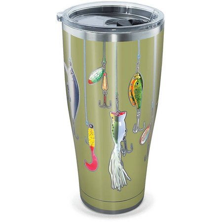 Tervis 30 oz Stainless Steel Fishing Lures Tumbler