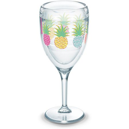 Tervis 9 oz. Simply Southern Pineapple Wine Glass