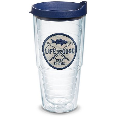 Tervis 24 oz. Keep It Reel Travel Tumbler