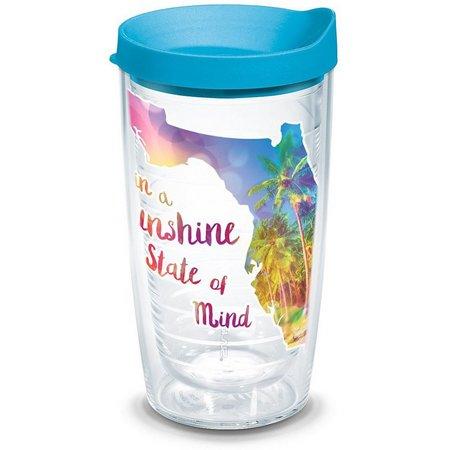 Tervis 16 oz. Sunshine State O'mind Travel Tumbler