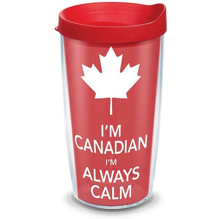 Tervis 16 oz. I'm Canadian Travel Tumbler