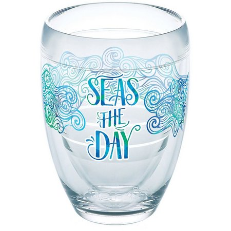 Tervis 9 oz. Seas The Day Stemless Wine
