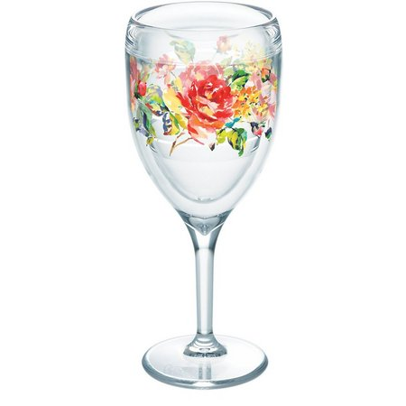 Tervis 9 oz. Fiesta Rose Wine Glass