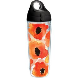 Tervis 24 oz. Watercolor Poppy Water Bottle