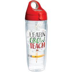 Tervis 24 oz. Learn Grow Teach Water Bottle