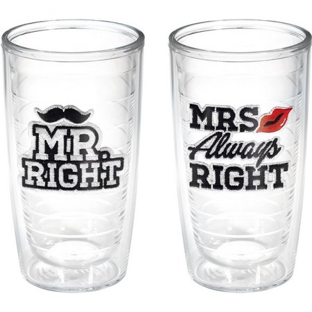 Tervis 16 oz. 2-pc. Mr. & Mrs. Right