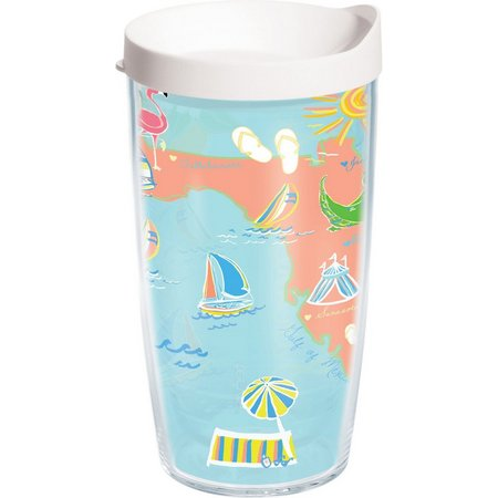 Tervis 16 oz. Destination Florida Travel Tumbler