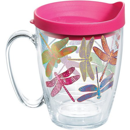 Tervis 16 oz. Dragonfly Mug With Lid