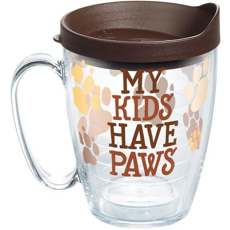 Tervis 16 oz. My Kids Have Paws Travel