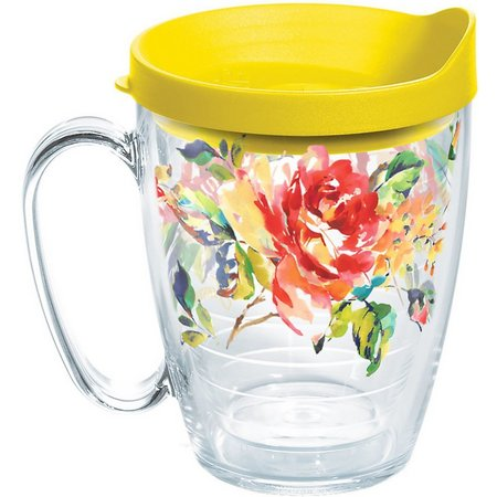 Tervis 16 oz. Fiesta Rose Travel Mug