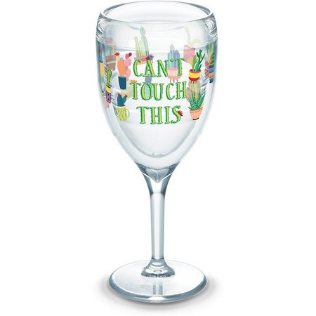 Tervis 9 oz. Can't Touch This Wine Glass