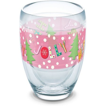 Tervis 9 oz. Jolly Happy Merry Stemless Wine