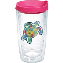 Tervis 16 oz. Sea Turtle Travel Tumbler with