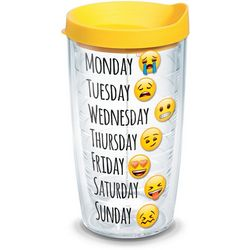 Tervis 16 oz. Emoji Days Tumbler With Lid