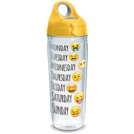 Tervis 24 oz. Emoji Days Water Bottle