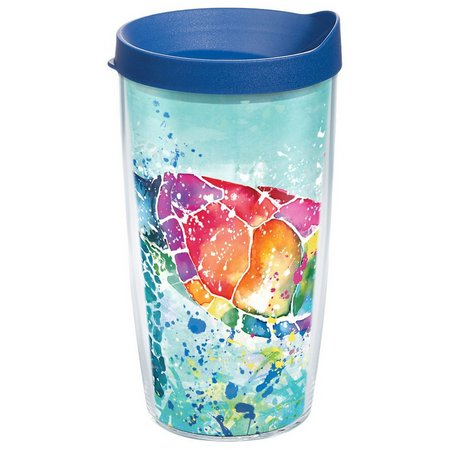 Tervis 16 oz. Splash Turtle Travel Tumbler