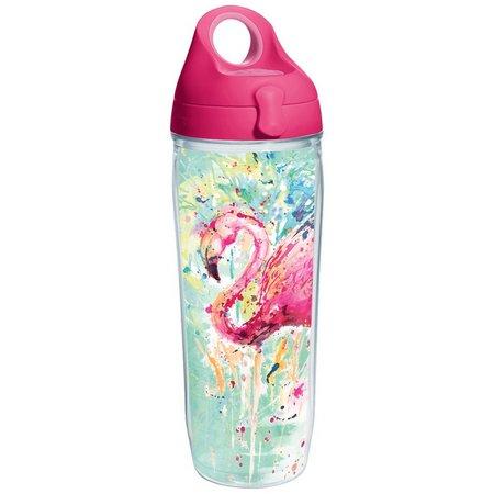 Tervis 24 oz. Splash Flamingo Water Bottle