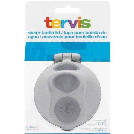 Tervis 24 oz. Grey Water Bottle Lid