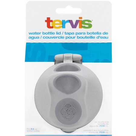 Tervis 24 oz. Grey Water Bottle Lid