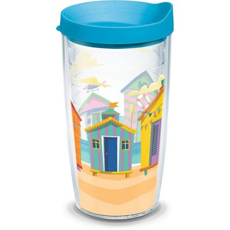 Tervis 16 oz. Bright Cabanas Tumbler With Lid