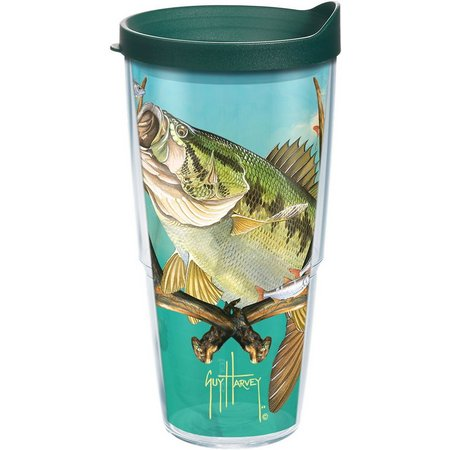 Tervis 24 oz. Guy Harvey Bass Tumbler With