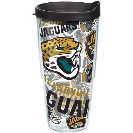 Tervis 24 oz. NFL Jaguars Allover Tumbler With