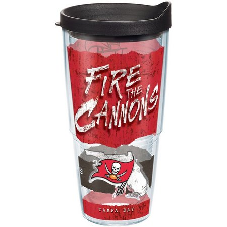 New! Tervis 24 oz. Buccaneers Fire The Cannons