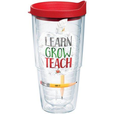 Tervis 24 oz. Learn Grow Teach Tumbler With