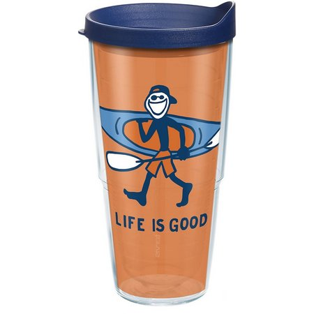 Tervis 24 oz. Life Is Good Kayak Tumbler