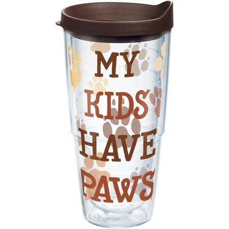 New! Tervis 24 oz. My Kids Have Paws