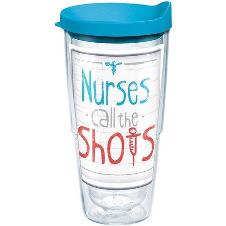 New! Tervis 24 oz. Nurses Call Shots Tumbler