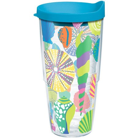 Tervis 24 oz. Pastel Shells Tumbler With Lid